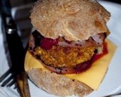 Recette burger au poulet façon kfc