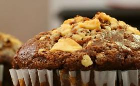 Muffin chocolat-amande pour 4 personnes