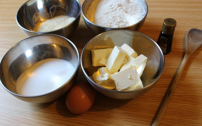 Recette pâte sablée à l'amande économique > cuisine étudiant