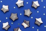 Recette de biscuits sablés étoiles de noël au chocolat noir