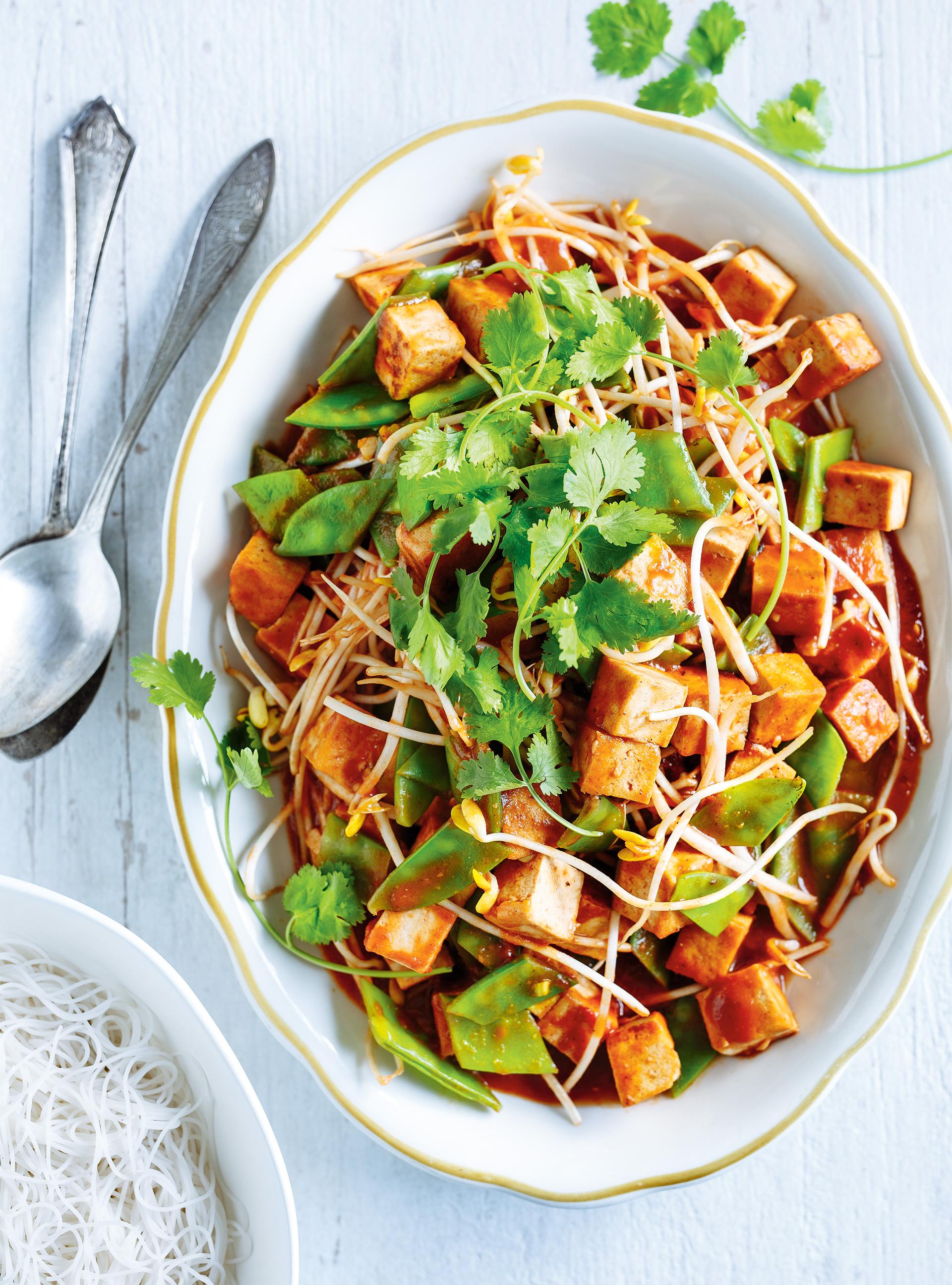 Tofu au miso et à la tomate | ricardo