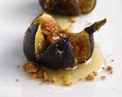 Recette figues rôties au miel