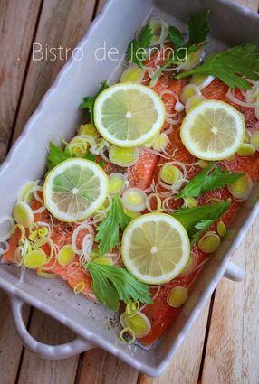 Recette de filets de truite au citron