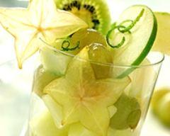 Recette salade de fruits verts