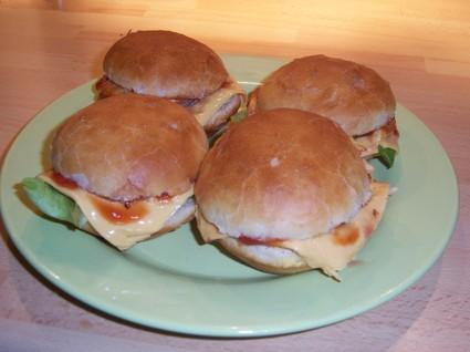 Recette de pains à hamburger maison