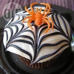 Recette muffins toiles d'araignées – toutes les recettes allrecipes