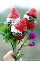 Recette de sucettes de fraise