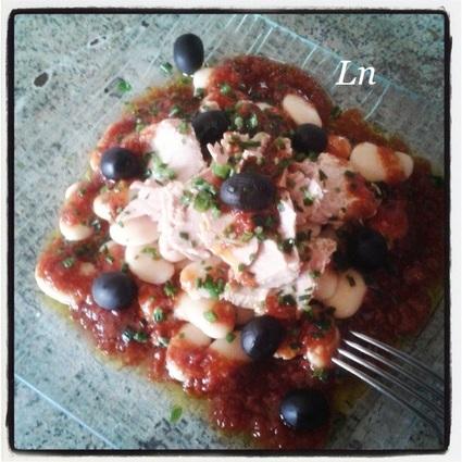 Recette de salade ibérique