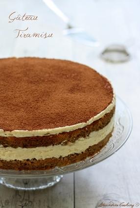 Recette de tiramisu en version gâteau
