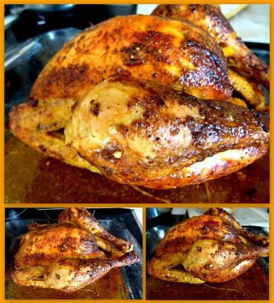 Recette de poulet rôti comme en rôtisserie