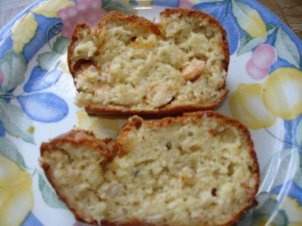 Recette de cake au crabe et crevettes