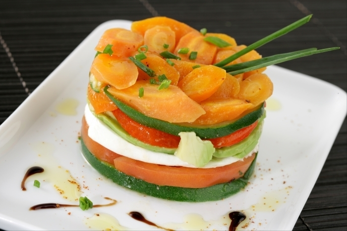 Mille feuille de legumes facon tajine recette - Terrine de legumes facile et rapide ...