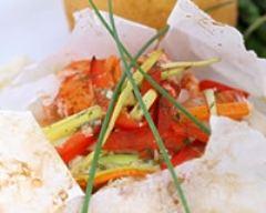 Bar en papillote | cuisine az
