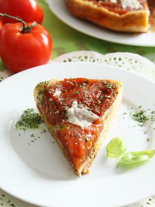 Recette de tarte tatin aux tomates