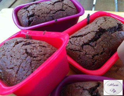 Recette de moelleux au chocolat en mini-cakes