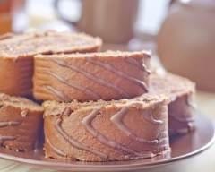 Recette gâteau roulé chocolat/café