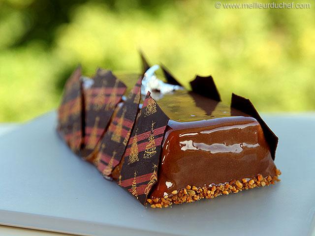 Bûchette lingot lactée caramel  fiche recette avec photos ...