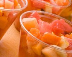 Recette salade de fruits exotiques au soho