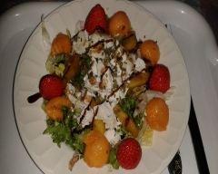 Recette salade de chèvre de magali