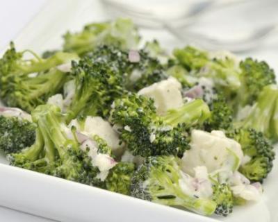 Recette salade vitaminée aux brocolis, ail et échalotes