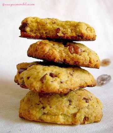 Recette de cookies moelleux chocolat et noix de pécan