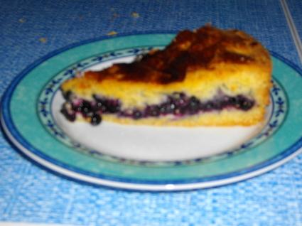 Recette de gâteau basque aux myrtilles