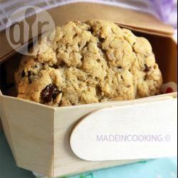Recette biscuits aux flocons d'avoine et aux raisins secs – toutes ...