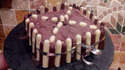 Recette de gâteau trianon au chocolat au lait