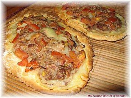 Recette de pide à la viande (pizza turque)
