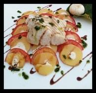 Recette de cabillaud aux pommes de terre et tomates et pesto de ...