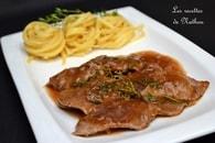 Recette escalopes de veau, sauce au vin marsala, échalote et thym ...