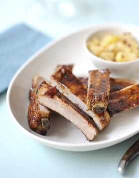 Travers de porc aux pommes pour 4 personnes recette - Cuisiner travers de porc ...