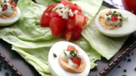 Tartare de tomates à l'huile d'olive pour 4 personnes