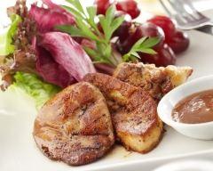 Recette foie gras poêlé aux reines des reinettes