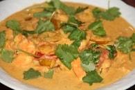 Recette de crevettes au curry et mirabelles de lorraine