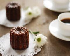 Recette cannelés au chocolat et à l'orange