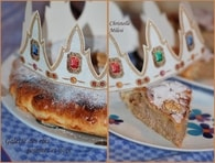 Recette de galette des rois pommes et noix