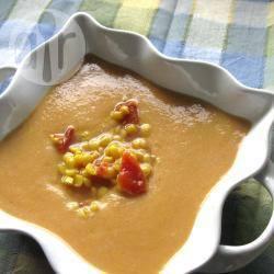 Recette soupe de pois cassés en cocotte