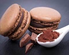 Recette macarons au chocolat au lait faciles