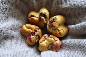 Muffins aux framboises pour 6 personnes