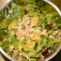 Recette salade fraîcheur aux miettes de crabe – toutes les recettes ...