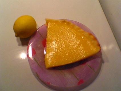 Recette de tarte au citron rapide