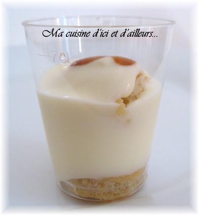 Tiramisu caramel au beurre salé