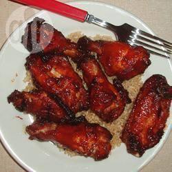 Recette ailes de poulet caramélisées à l'ail – toutes les recettes ...
