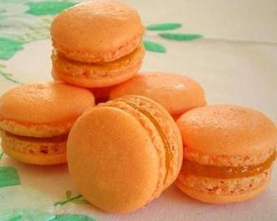 Recette macarons à la mangue et au gingembre