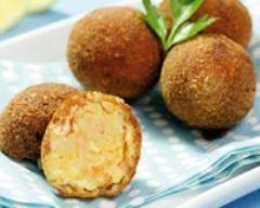 Recette croquettes de saumon et pommes de terre