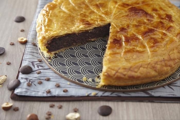Recette de galette des rois, crème de noisette au chocolat facile et ...