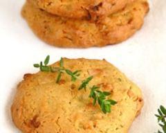 Recette cookies au chocolat blanc, thym et huile d'olive