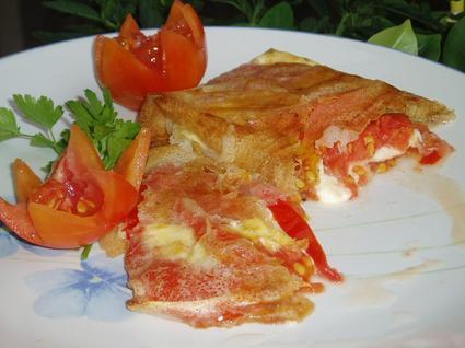 Recette de tomates-mozzarella croustillantes