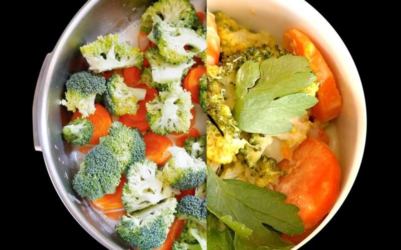 Recette curry vert de crevettes économique > cuisine étudiant